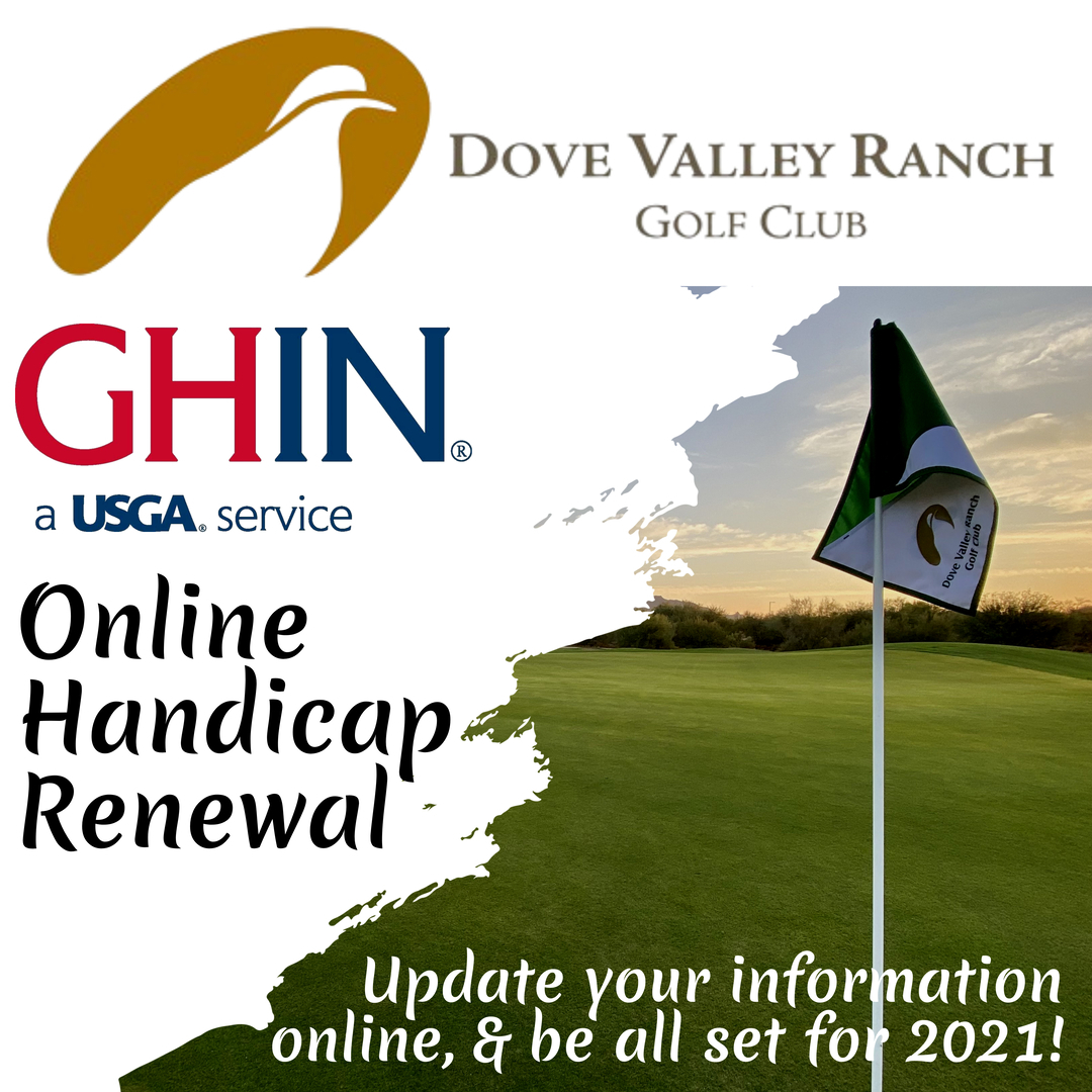 GHIN Renewal Post